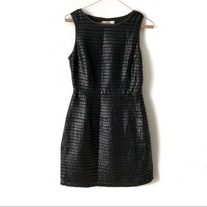 BB Dakota Faux leather dress
